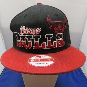 New Era NBA Chicago Bulls Black 9Fifty Hat